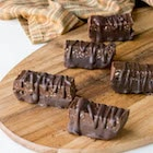 Chocolate fudge protein bars