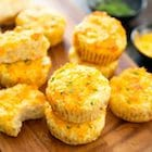keto friendly cheesy cauliflower muffin