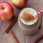 protein shake and apple