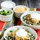 Low Carb Green Chile Pork Taco Bowl