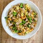 keto pork and cashew sitr fry
