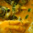 keto thai fish yellow curry