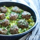 lamb meatballs keto dinner recipe