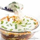 low carb cauliflower casserole with beef marinara