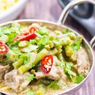 low carb pork coconut curry