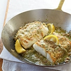roast cod low carb dinner