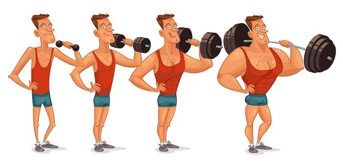strength training muscle mass