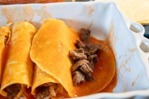 Easy Steak and Cheese Enchiladas Recipe Steps